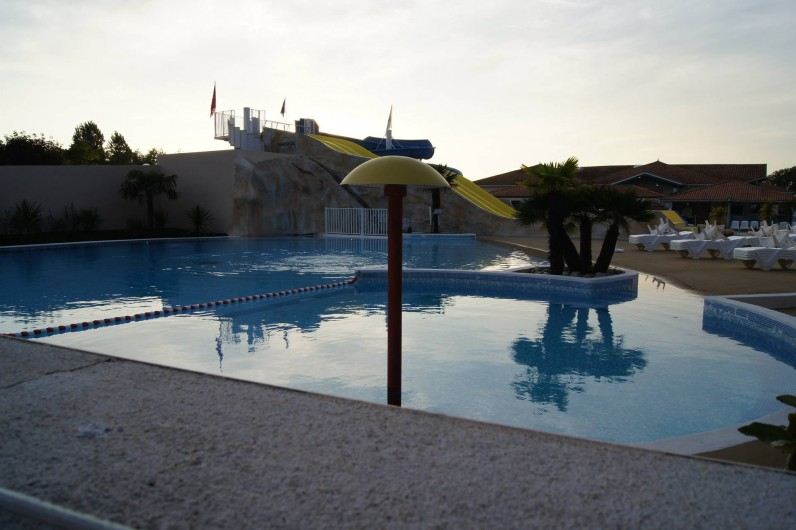 Location de vacances - Bungalow - Mobilhome à Les Mathes - Espace aquatique ext