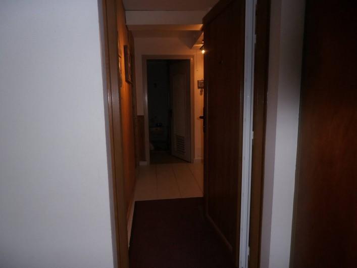Location de vacances - Appartement à La Clusaz - entrée