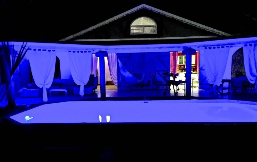 Location de vacances - Chambre d'hôtes à Le Gosier - Bonne nuit !