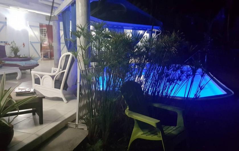 Location de vacances - Chambre d'hôtes à Le Gosier - Sans vis à vis