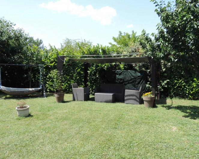 Location de vacances - Villa à Villecroze - COIN REPOS EXTERIEUR AVEC HAMAC