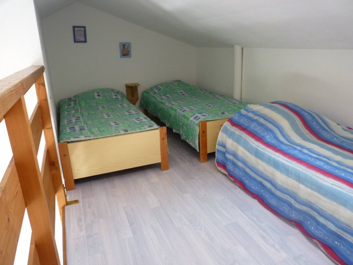 Location de vacances - Appartement à Le Château-d'Olonne - Mezzanine