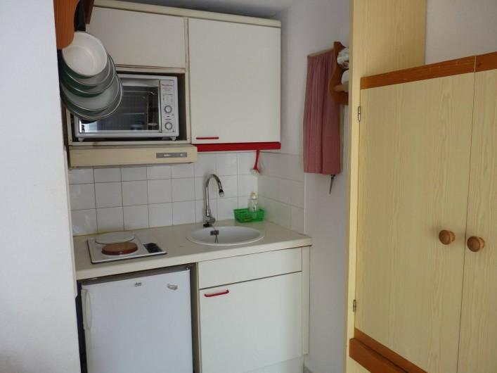 Location de vacances - Appartement à Le Château-d'Olonne - Coin cuisine