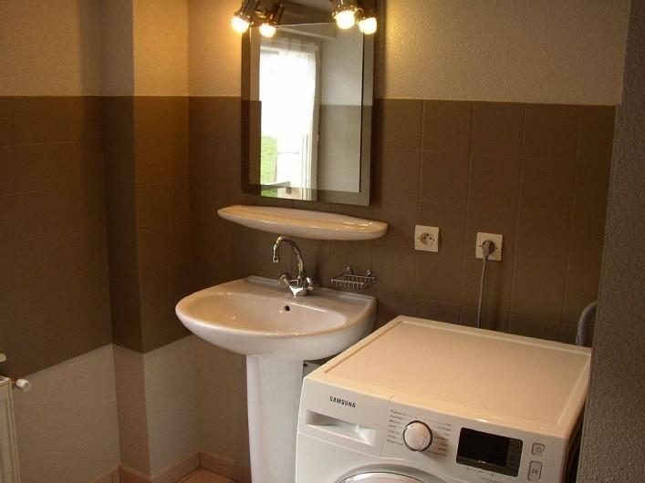 Location de vacances - Appartement à Les Planches-prés-Arbois - Salle de bains