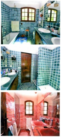Location de vacances - Mas à La Ciotat - Salle de bains