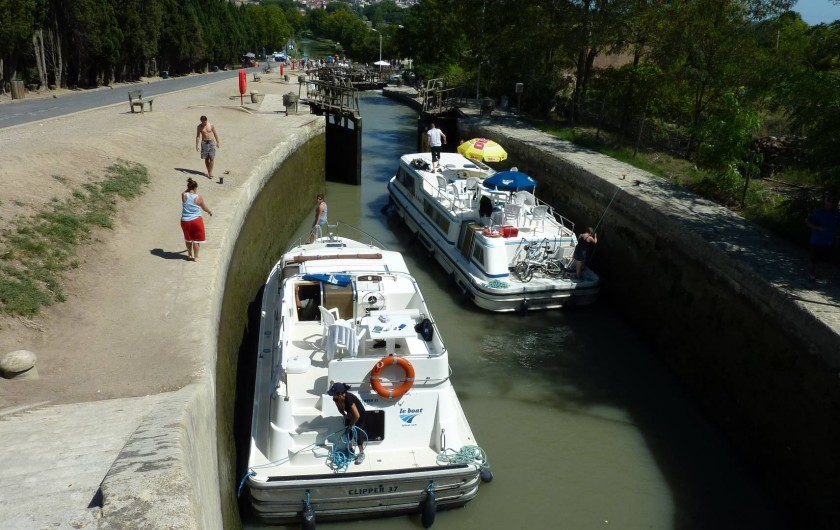 Location de vacances - Chambre d'hôtes à Le Bosc - LE CANAL DU MIDI
