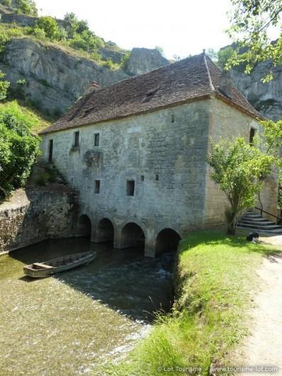 Location de vacances - Maison - Villa à Lacave - A 12Km Le Moulin de Cougnaguet sur l'Ouysse   © Lot Tourisme - E. Ruffat