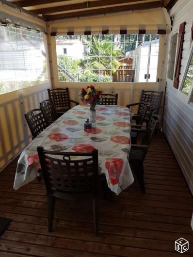 Location de vacances - Bungalow - Mobilhome à Quend Plage - Mobil home  6 pers