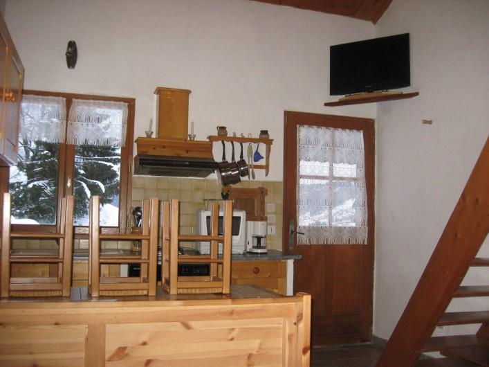 Location de vacances - Chalet à Hauteluce - Télé écran plat 81 cm