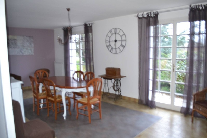 Location de vacances - Villa à Queyrac - Salle à manger