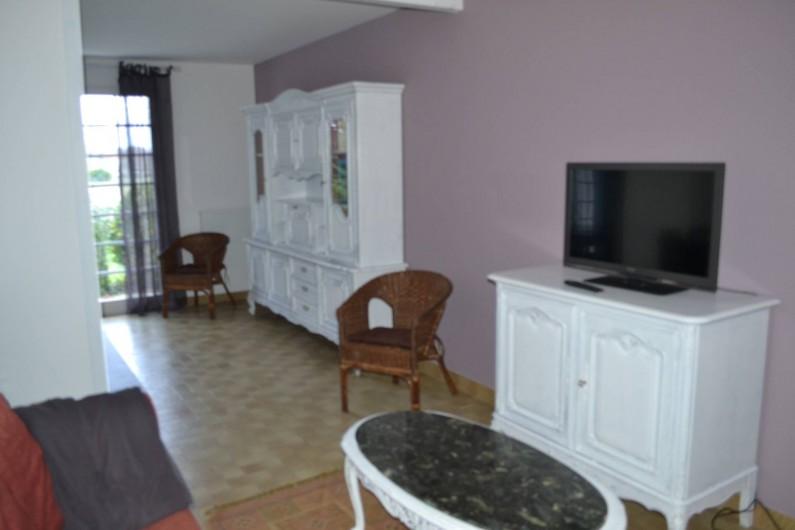 Location de vacances - Villa à Queyrac - Salon
