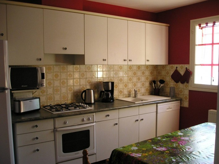 Location de vacances - Villa à Queyrac - Cuisine