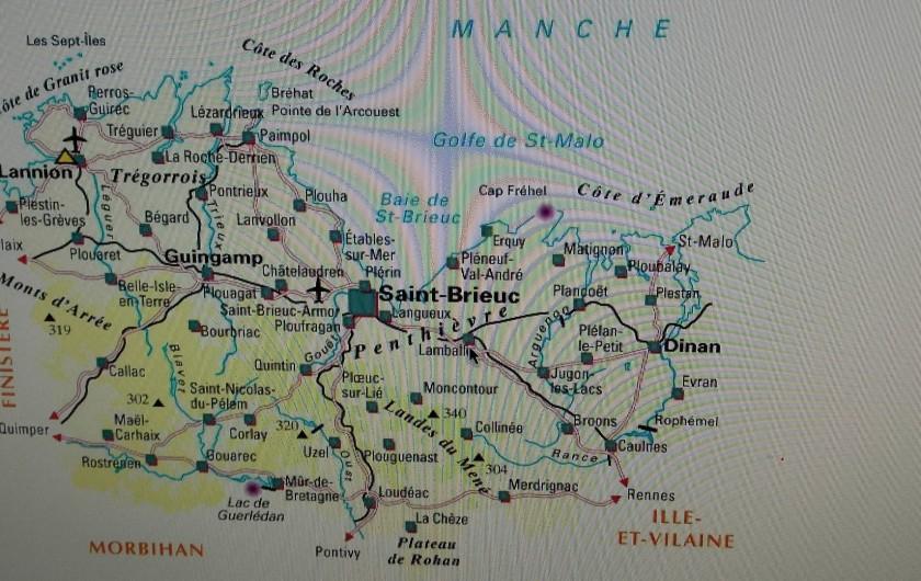 Location de vacances - Maison - Villa à Pordic - Baie de  saint  brieuc / GR34 au rythme des marées entre Falaises et Dunes