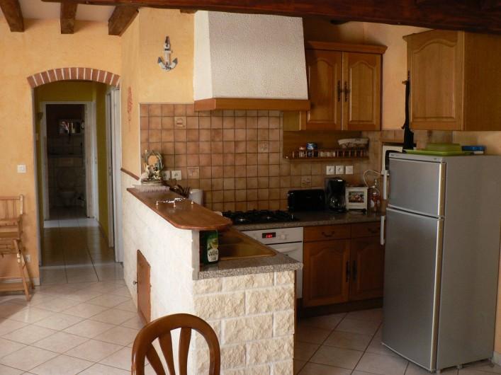 Location de vacances - Gîte à Saint-Victor-Malescours - Cuisine