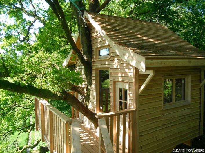Location de vacances - Cabane dans les arbres à Signy-l'Abbaye - la Héronnière