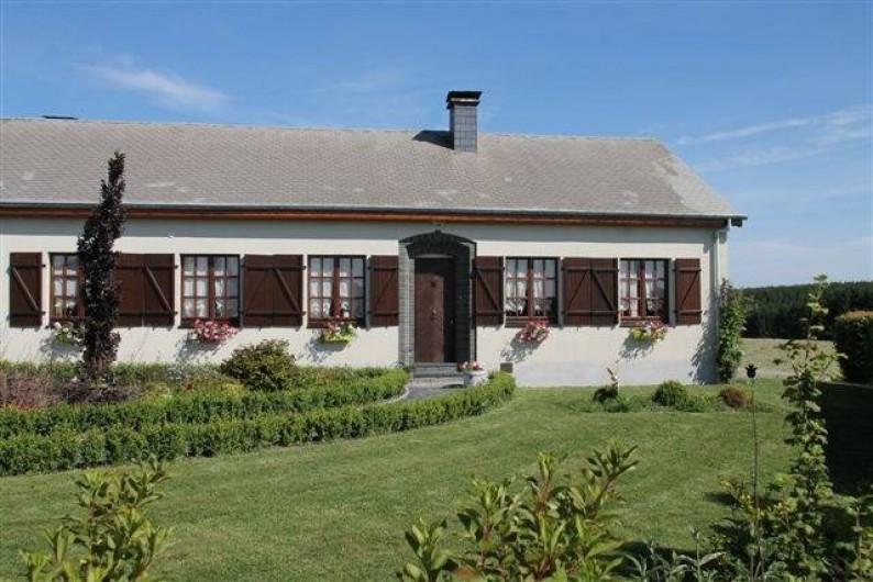 """Location de vacances - Chambre d'hôtes à Fauvillers - """"Au Fil des saisons sur la wiels"""""""