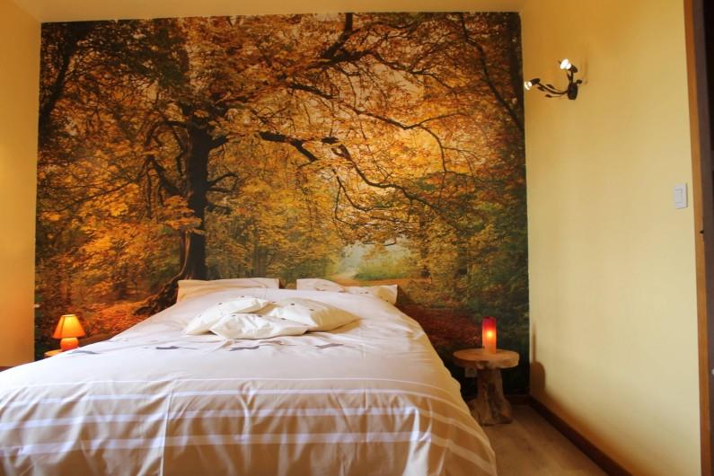 """Location de vacances - Chambre d'hôtes à Fauvillers - Chambre:  """" Forêt en automne"""""""