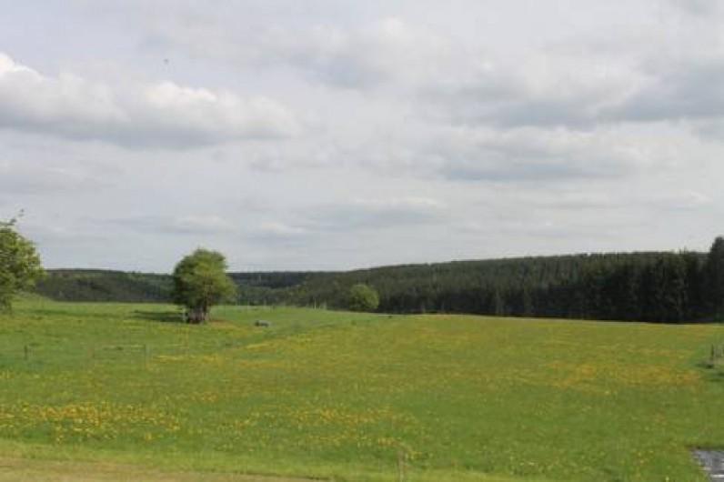 Location de vacances - Chambre d'hôtes à Fauvillers - Vue arrière de la maison