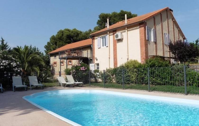 """Location de vacances - Appartement à La Londe-les-Maures - Piscine commune dont le gîte """"Les Figuiers"""""""