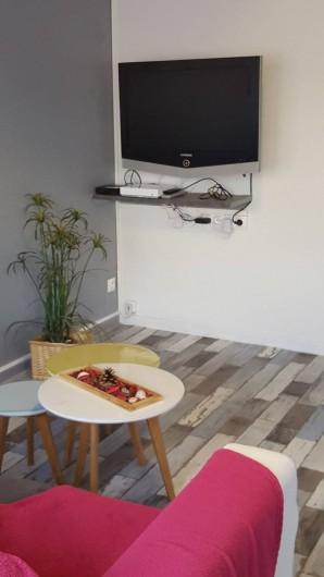 Location de vacances - Appartement à Saint-Étienne - fauteuil  convertible en lit pour 2 personnes