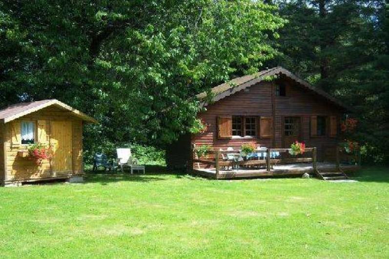 Location de vacances - Chalet à Teurthéville-Bocage