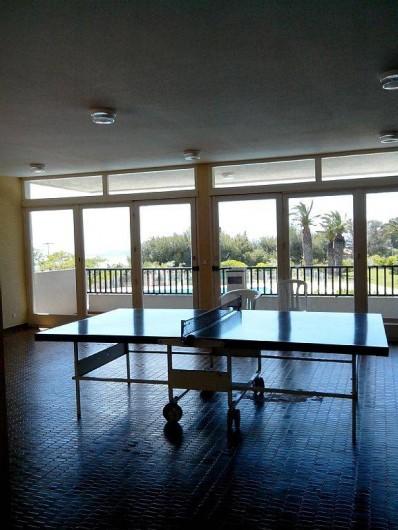 Location de vacances - Appartement à Cassis - Une des deux tables de ping pong