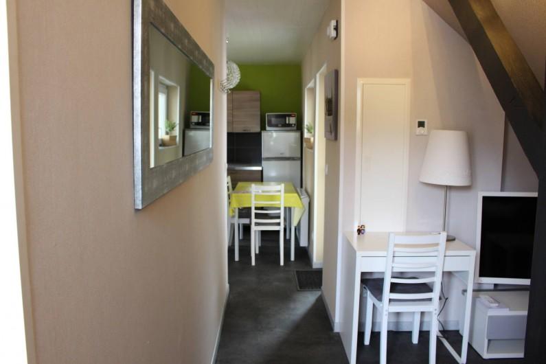 Location de vacances - Appartement à Niederbronn-les-Bains - Vers la cuisine