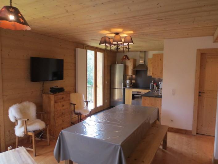 Location de vacances - Chalet à Morzine - Appartement 8 pers. Séjour