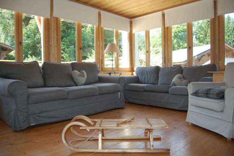 Location de vacances - Chalet à Morzine - Appartement 16 pers. Salon