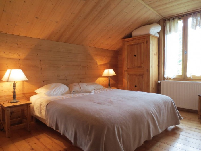 Location de vacances - Chalet à Morzine - Appartement 8 pers. Chambre N°3