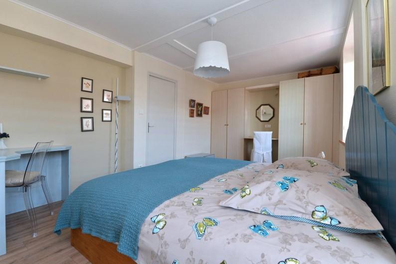 Location de vacances - Gîte à Dambach-la-ville - chambre 2 personnes  (lit 1,80 ou 2x 0,90)