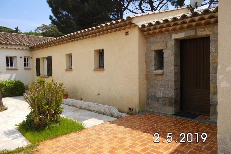 Location de vacances - Villa à Sainte-Maxime - L`entrée