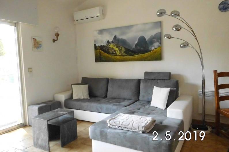 Location de vacances - Villa à Sainte-Maxime - Grand salon