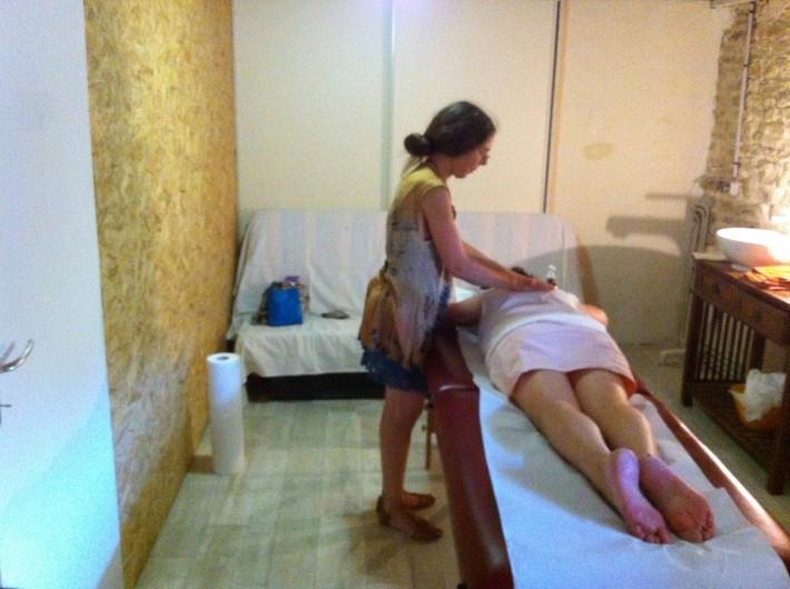 Location de vacances - Gîte à Sorans-lès-Breurey - Salle de massages sur rendez vous au sous-sol du gite.