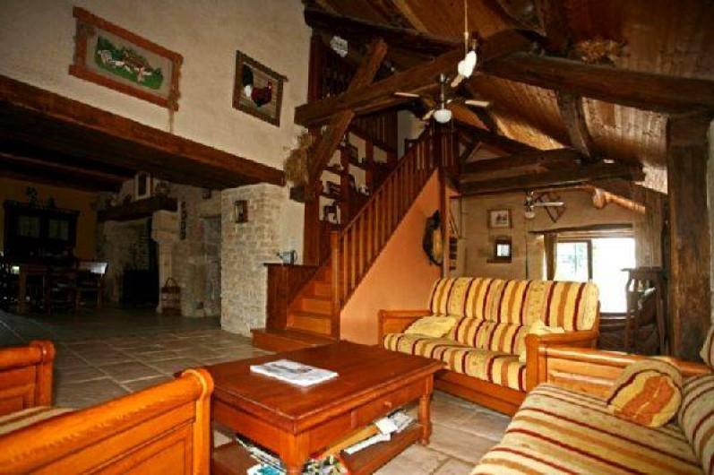 Location de vacances - Gîte à Sorans-lès-Breurey - Salon