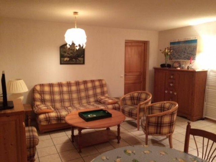 Location de vacances - Appartement à Chinaillon - Salon