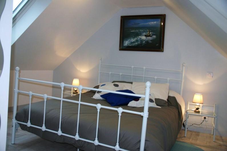 Location de vacances - Gîte à Lanildut - Chambre du deuxième étage