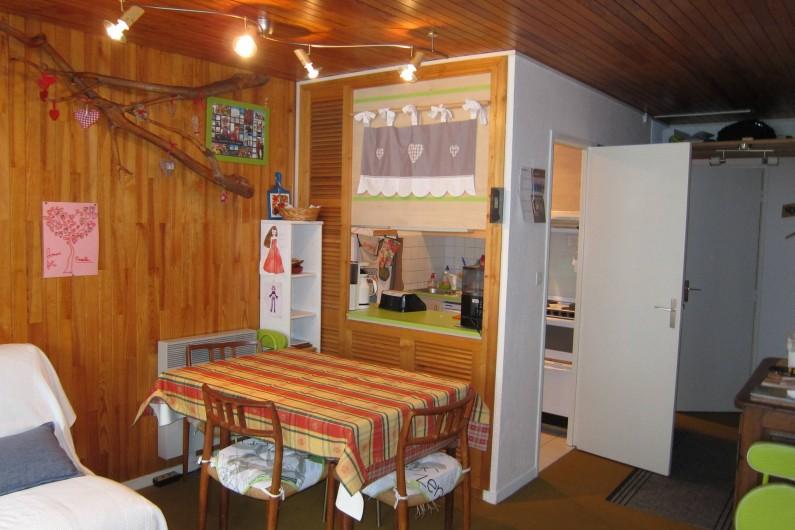 Location de vacances - Appartement à Tignes - Coin repas