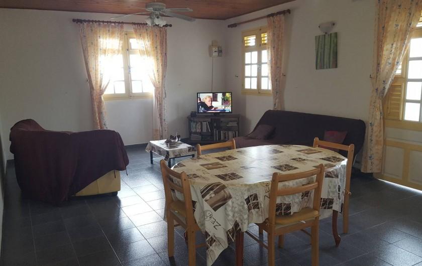 Location de vacances - Villa à Les Anses-d'Arlet - Séjour et Salon