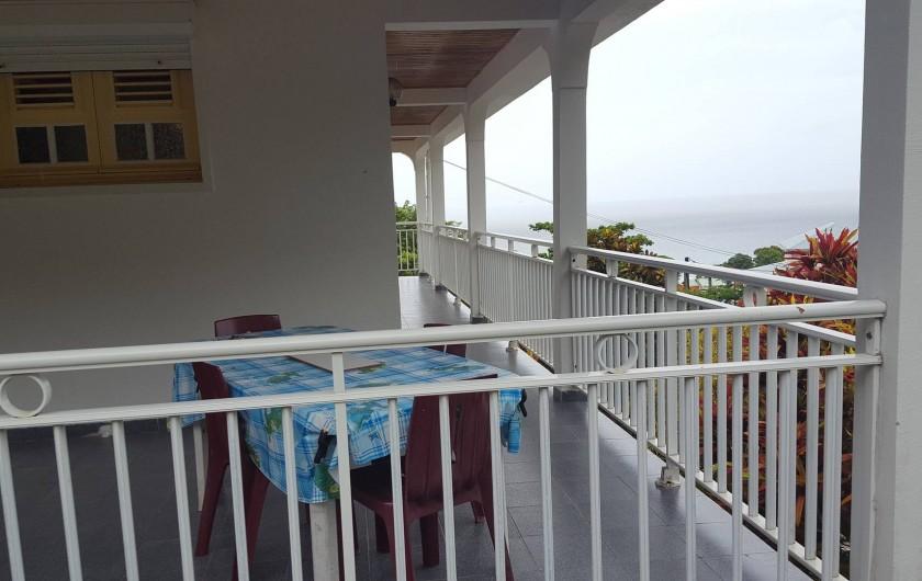 Location de vacances - Villa à Les Anses-d'Arlet - Vue sur Mer
