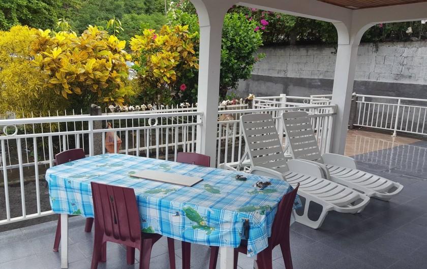 Location de vacances - Villa à Les Anses-d'Arlet - Terrasse