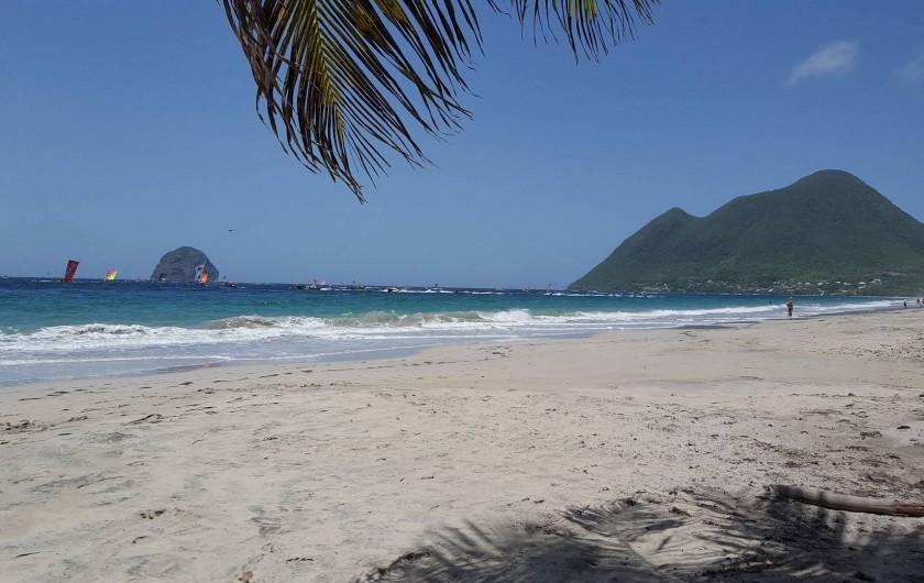 Location de vacances - Villa à Les Anses-d'Arlet - Plage du DIAMANT