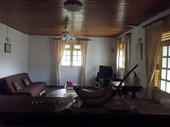 Location de vacances - Villa à Les Anses-d'Arlet - Séjour