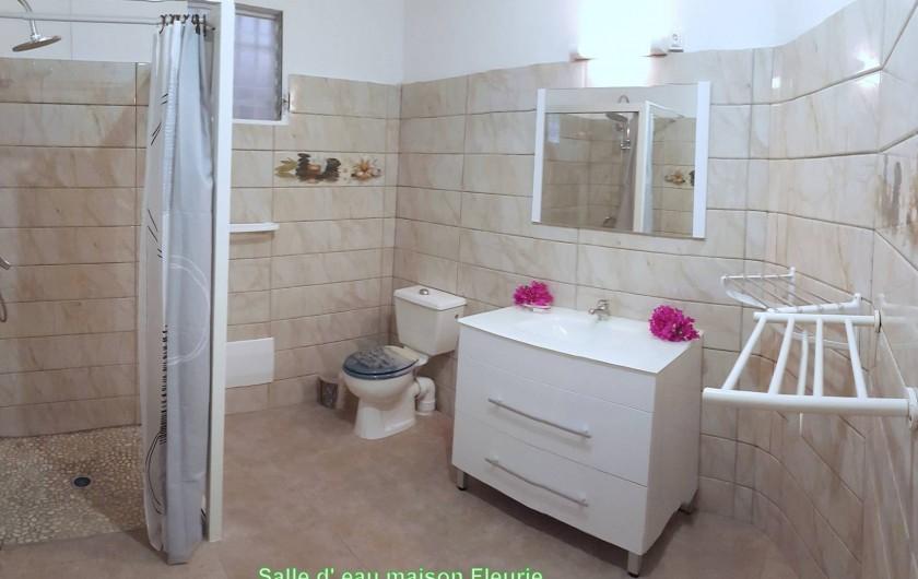 Location de vacances - Villa à Les Anses-d'Arlet - Salle d' eau
