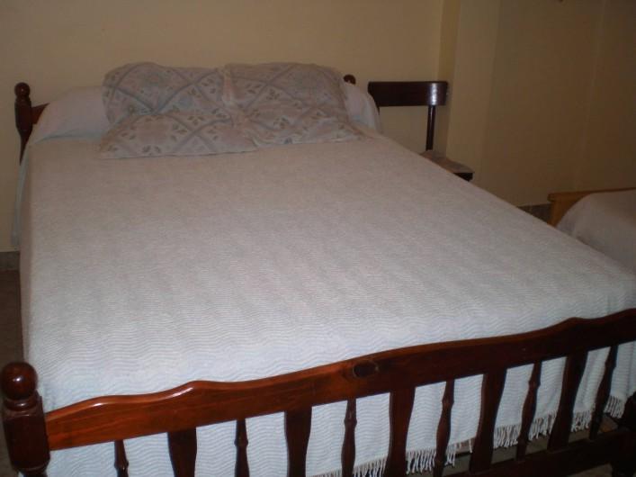 Location de vacances - Appartement à Les Anses-d'Arlet - Chambre climatisée n°1  Lit double