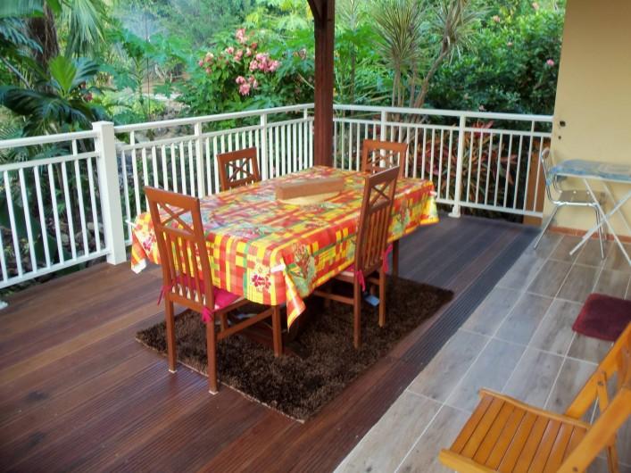 Location de vacances - Appartement à Les Anses-d'Arlet - Deck