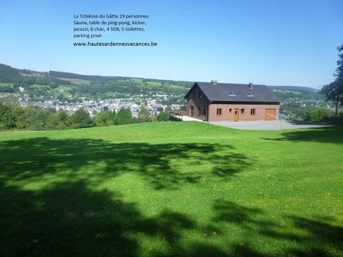 Location de vacances - Gîte à Stavelot - Lu Tchièsse du gâtte avec jacuzzi, sauna infrarouge, kicker, pingpong,...