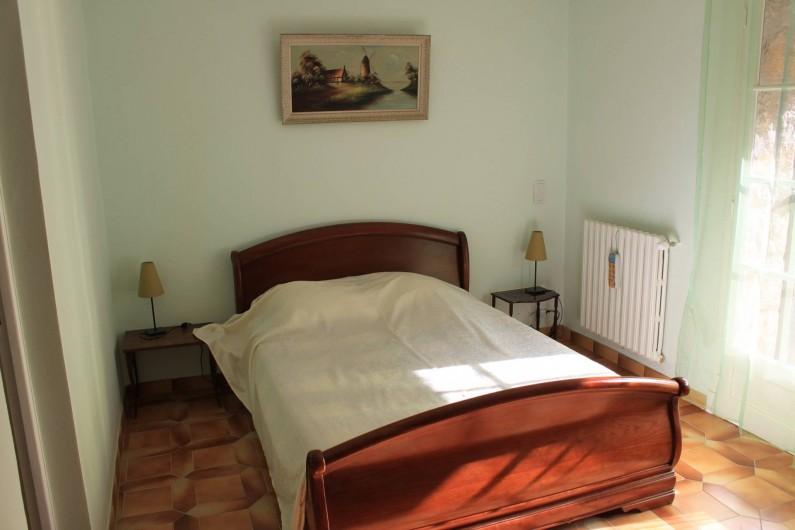 Location de vacances - Villa à Grasse - La chambre verte - Rez-de-chaussée