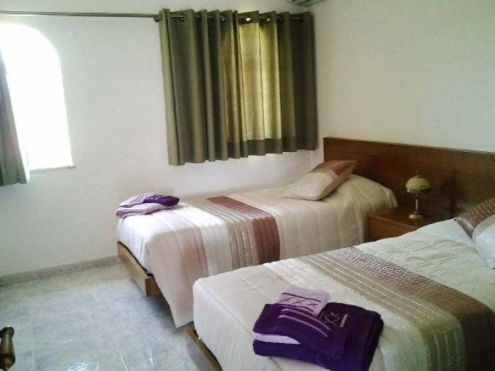 Location de vacances - Appartement à Armação de Pêra - Chambre 2 - 2 lits simples