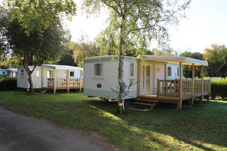 Location de vacances - Bungalow - Mobilhome à Saint-Yvi - Mobil home 4 Personnes